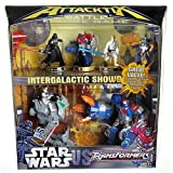 Hasbro AttackTix Battle Figure Game - Star Wars vs. Transformers