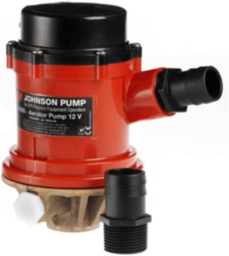 Johnson Pump Pro Series 1600GPH Livewell Financial sales sale - Baitwell 24V Con 35% OFF