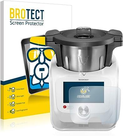 BROTECT Protection Ecran Verre Compatible avec Silvercrest Monsieur Cuisine Connect - Protecteur Vitre 9H, AirGlass