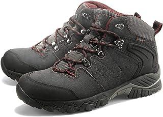LIXADA トレッキングシューズ 登山靴 アウトドアシューズ ウォーキングシューズ 防滑 牛革 防水 耐磨耗 アウトドア キャンプ 登山など 男女選択可
