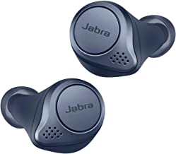 Jabra Elite Active 75t Earbuds – True Wireless Earbuds with Charging Case, Navy