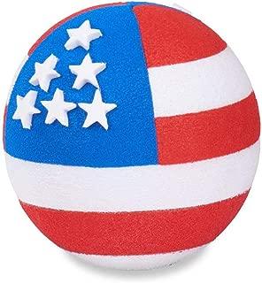Coolballs Patriotic USA American Flag (2 Sided) Car Antenna Topper/Antenna Ball/Mirror Dangler/Desktop Spring Stand