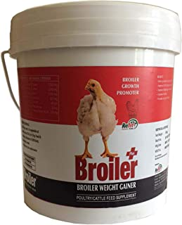 REFIT ANIMAL CARE - Broiler Weight Gainer & Growth Promoter for Poultry (Broiler+ 5 Kg.)