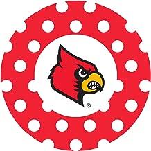 Thirstystone Stoneware Coaster Set, University of Louisville Dots