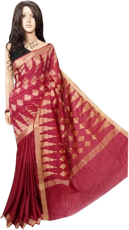 Traditional handloom Bhgalpuri Silk Saree Full weaving work by weavers Bengal Women sari Indian Ethnic Festive saree 117 1