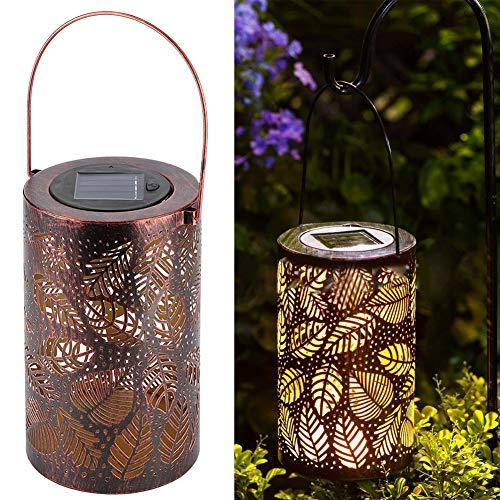Socobeta - Farolillos solares de diseño portátil con luz solar de ahorro de energía, buena apariencia para la...