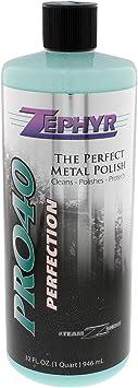 Zephyr PRO40032 32 oz. Pro-40 Metal Polish, 1 Pack: image