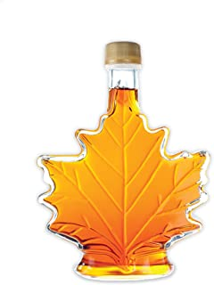 Pure, Organic Canadian Maple Syrup, All-Natural, Grade-A Amber Rich Taste | Delicious Sweetness | No Preservatives, Gluten Free, Vegan Friendly (1 X 100ml)