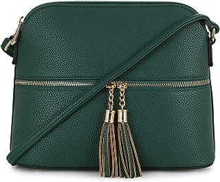 2bc7c283161 Amazon.com: Greens - Crossbody Bags / Handbags & Wallets: Clothing ...
