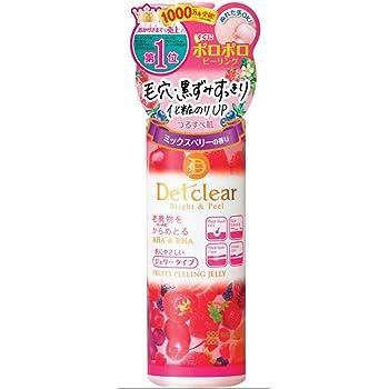明色化粧品 DETクリア ブライト&ピール ピーリングジェリー (ミックスベリーの香り) 180mL