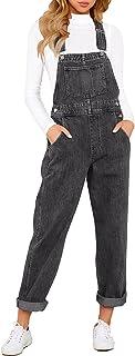 Sponsored Ad - LookbookStore Women's Casual Stretch Denim Bib Overalls Pants Pocketed Jeans Jumpsuits