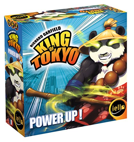 IELLO Tash–51369–King of Tokyo–Power Up