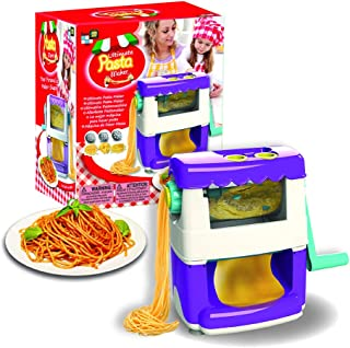 AMAV Toys Ultimate Pasta Maker Machine Kit for Kids - DIY Make Your Own Pasta Masterpiece from Scratch! Fun Activity to Do with Kids. Great Gift Idea