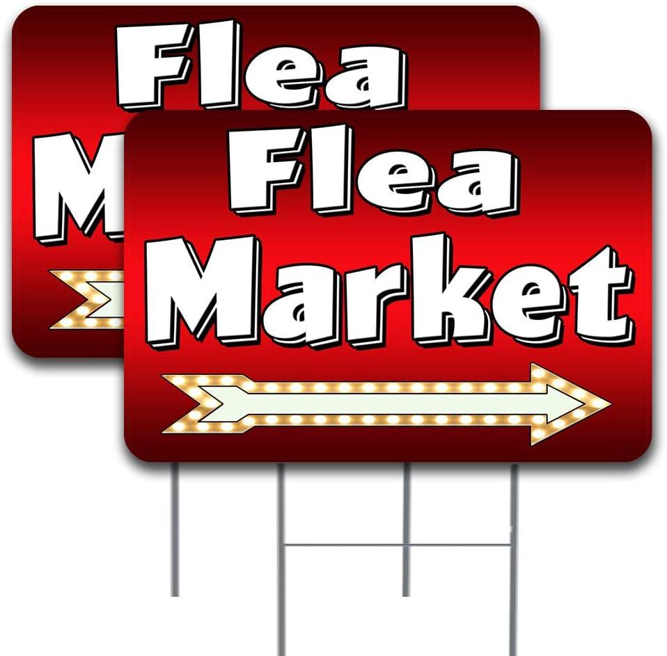 Max 83% OFF 2 Pack Flea Market Arrow Max 89% OFF Design Yard 24