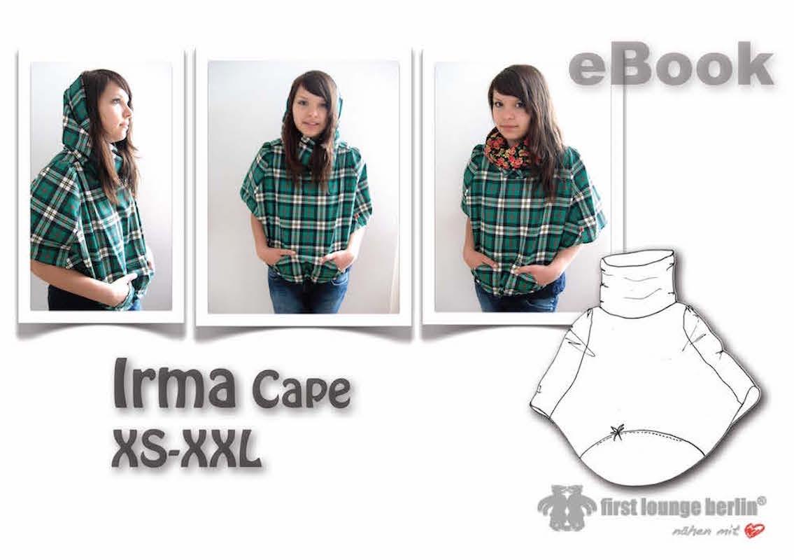 Irma Cape Gr. XS-XXL Nähanleitung mit Schnittmuster [Download]