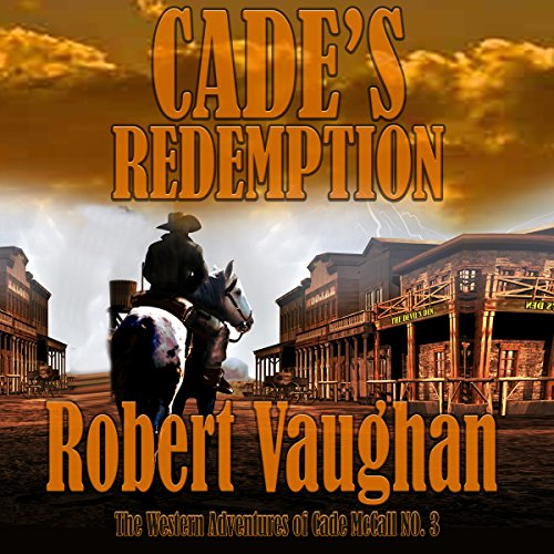 Cade's Redemption audiobook cover art