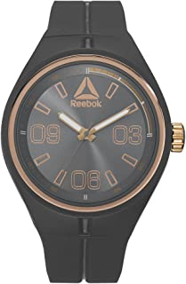 Reebok Men's Black Dial Color Silicon Strap Watch - RD-TRA-G2-PAIA-A3