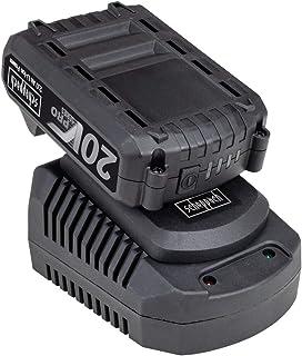 SCHEPPACH startkit 2 Ah/20 V batteri systembatteri + laddare för 20 V Pro Series