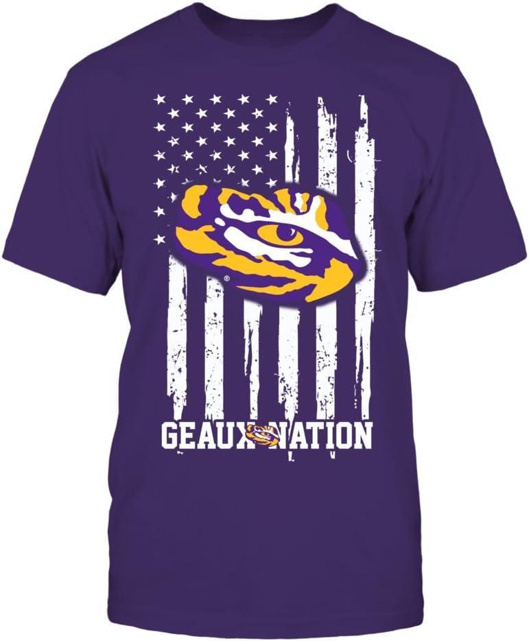 FanPrint LSU Tigers Hoodie Kansas City Mall Mail order Nation -