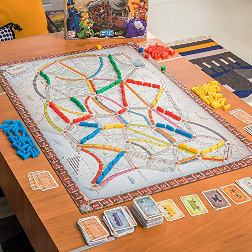 Ticket to Ride: The Cross-country Train Adventure Game! - 2