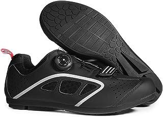 LIXADA サイクリングシューズ ビンディングシューズ メンズ 2色 超軽量 滑り止め 通気性 耐磨耗 ロード スポーツ サイクリング バイク サイクルシュ?ズ