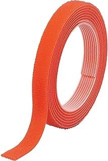 TRUSCO(トラスコ) マジックバンド結束テープ 両面 20mm×5m オレンジ MKT-20V-OR