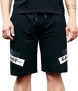 Polyester Yoga Sloth Swimsuit with Pockets Xk7@KU Mens Athletic Swim Trunks