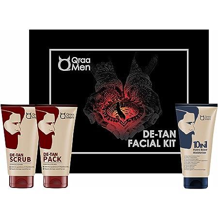 QRAA De-Tan Kit (Value Pack), 320 g (Pack of 3)…