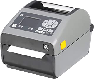 Zebra - ZD620d Direct Thermal Desktop Printer with LCD screen - Print Width 4 in - 203 dpi - Interface: Ethernet, Serial, USB - ZD62142-D01F00EZ