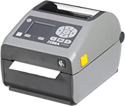 $569 » Zebra - ZD620d Direct Thermal Desktop Printer with LCD screen - Print Width 4 in - 203 dpi - Interface: Ethernet, Serial, USB - ZD62142-D01F00EZ