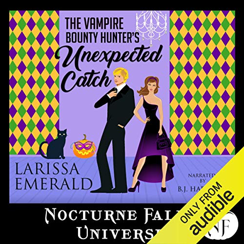 The Vampire Bounty Hunter's Unexpected Catch cover art