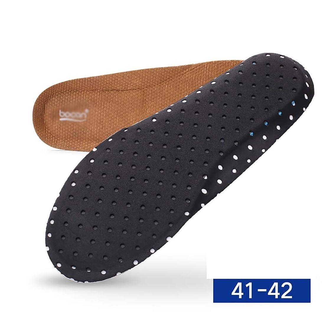 トーナメント高速道路スーパーマーケット作業靴 作業安全インソール、耐パンク性スチールインソール、男性と女性のインソール用通気性抗菌保護靴-消臭穴 安全靴 (Color : B)