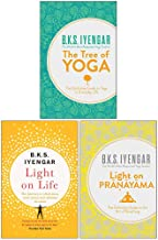 B.K.S. Iyengar Collection 3 Books Set (The Tree of Yoga, Light on Life, Light on Pranayama)