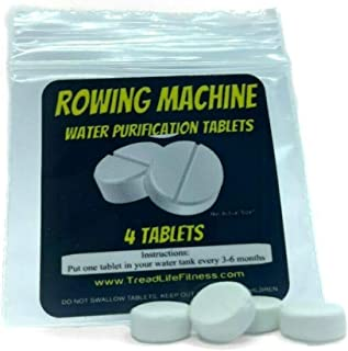 TreadLife Fitness Water 'Tank Cleaning' Tablets - for Rowing Machines - 4 Tablets