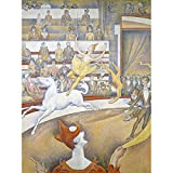 Georges Seurat The Circus Art Print Canvas Premium Wall