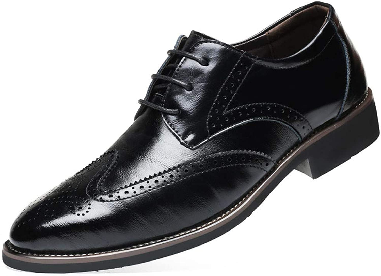 AADDIN Leather shoes Men Dress shoes Formal shoes Flats For Wedding Office Business