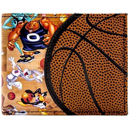 Cartera de Space Jam Baloncesto Design Aliens & Looney Tunes Marrón