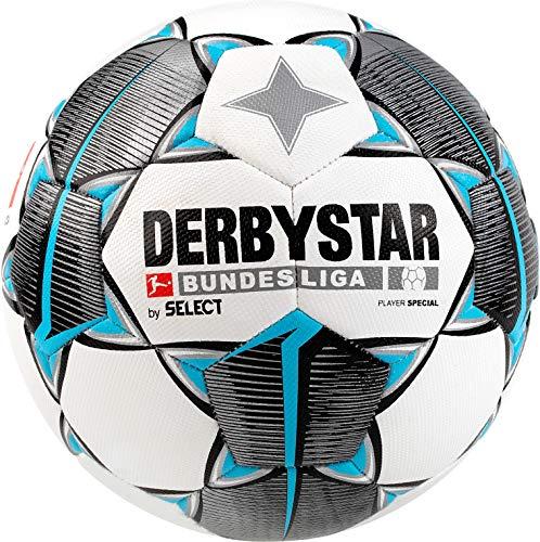 Derbystar - Freizeitball Größe 5, 395 - 410 g, Fußball im Design des offiziellen Spielballs, Bundesliga Saison 2019 / 2020