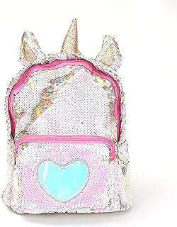 Unicorn Sequin Backpack Magic Reversible Glitter school bag Unicorn Gift for Girls Boy