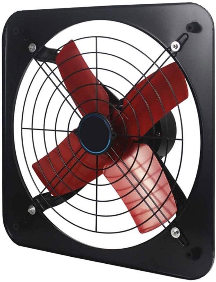 MLZWS Ventilador de escape de cocina de 12 pulgadas, ventilador de ventana de pared, Extractor fuerte, ventilador de ventilación de baño doméstico, soplador de Bildge Industrielle