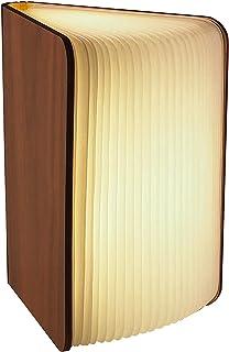 Gadgy ® Lámpara de Libro (Grande) con Cierre Magnético l Papel Tyvek de Calidad l Brilla en 3 Colores l Posibilidades de P...