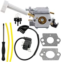 Harbot 308054079 Carburetor + 291424001 Ignition Coil Module Tool for Ryobi BP42 RY08420 RY08420A Backpack Blower