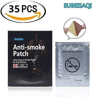 35PCS Parche antihumo para dejar de fumar Parche Anti-Humo de Ingrediente natural Dejar de Fumar Parches Ingrediente natural Dejar de fumar Menos dolor