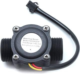 Dasunny Water Flow Meter Fluid Water Flow Sensor Switch, 1-60L/min, FS300A G3/4