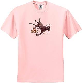 Bad Dog Cookie Jar Frenchie Bulldog 3dRose Boehm Graphics Dog T-Shirts