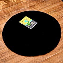 Bedroom Rug Home Living Room Round Cold Protection Warm Foot Cushion Carpet Sofa Chair Cushion Soft Skin-Friendly,3,40cm