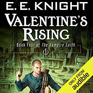 Valentine's Rising     The Vampire Earth, Book 4              By:                                                                                                                                 E. E. Knight                               Narrated by:                                                                                                                                 Christian Rummel,                                                                                        E. E. Knight (Introduction)                      Length: 12 hrs and 6 mins     417 ratings     Overall 4.4