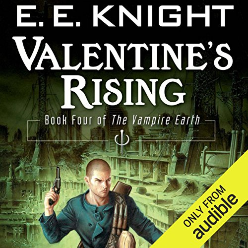 Valentine's Rising audiobook cover art