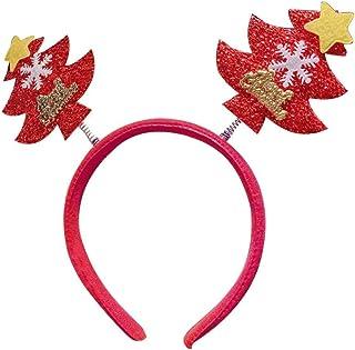 Diadema navideña con diferentes diseños para niños y adultos, para fiestas de Navidad