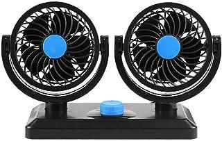 $29 » Sponsored Ad - 4.5 Inch Suction Stepless Speed Adjusting Car Fan DC 12V Vehicle Slient Cooling (Orange)